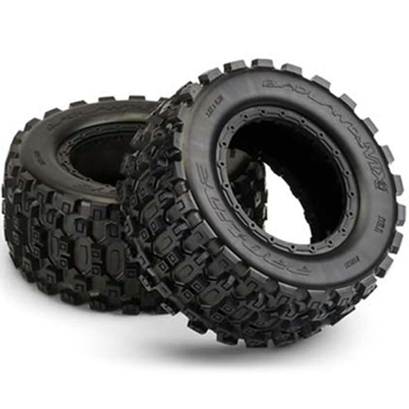 Pro-Line Badlands MX43 Pro-Loc All Terrain Tires (2) : Pro-Loc X-MAXX Wheels F / R