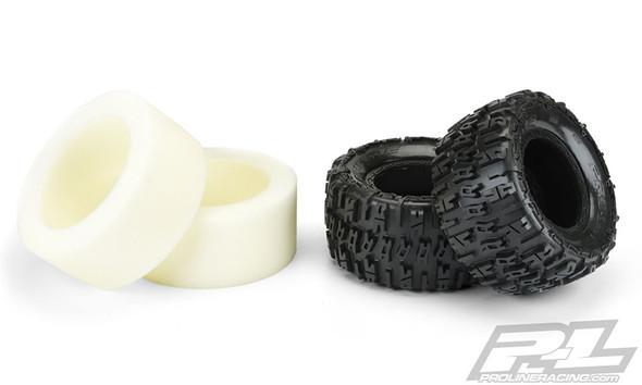 """Pro-Line 10151-00 Trencher 4.3"""" Pro-Loc All Terrain Truck Tires (2) :X-MAXX Wheels F/R"""