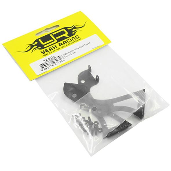 Yeah Racing YA-0536 Metal Spoiler Wing Mount Type A : 1/10 Drift