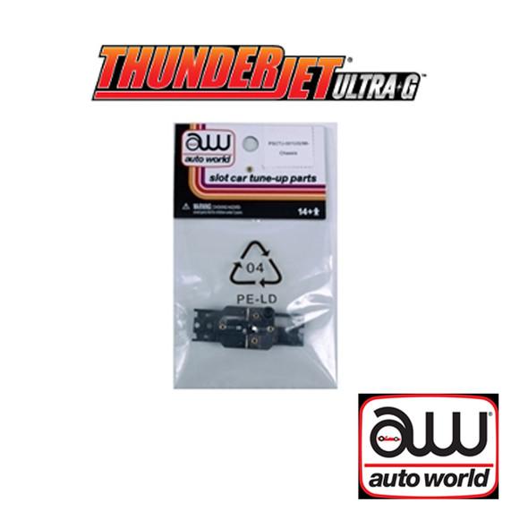 Auto World Thunderjet Chassis Ultra G Frame Only (1) Pk : 1:64 / HO Scale Slot Car