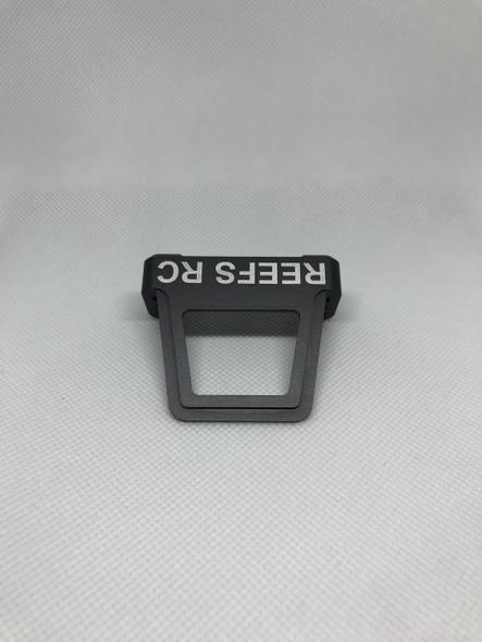 Reef's RC Hard Anodized Aluminum Servo Shield Dark Grey REEFS10-DGRAY