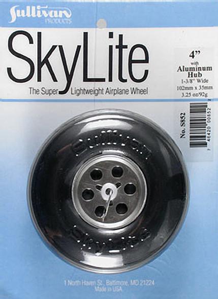 "Sullivan S852 SkyLite Wheel w/Aluminum Hub 4"" (1) Airplane"