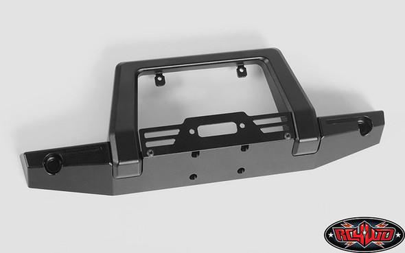 RC4WD Pawn Metal Front Bumper w/Lights : Traxxas TRX-4 VVV-C0450