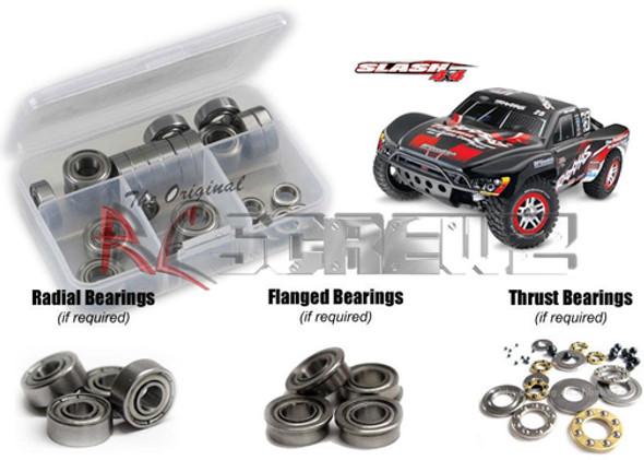 RC Screwz Precision Metal Bearing Traxxas Slash 4x4 TRA039B