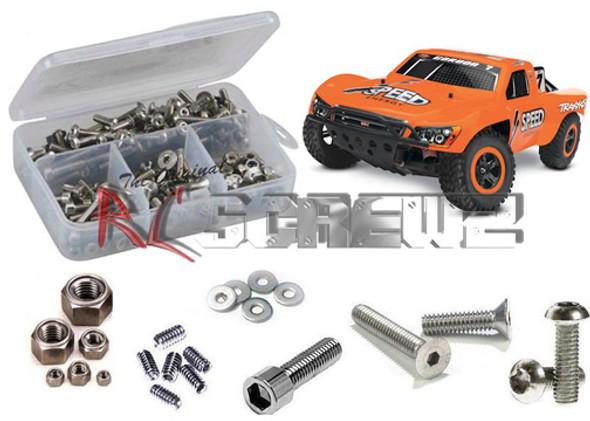 RC Screwz Stainless Steel Screw Kit Traxxas Nitro Slash 3.3 TRA050