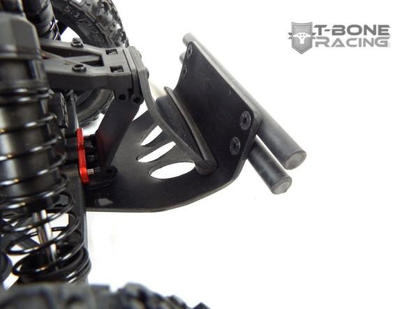 T-Bone Racing 47024 TBR XV4 Rear Bumper Red : RedCat Racing TR-MT10E