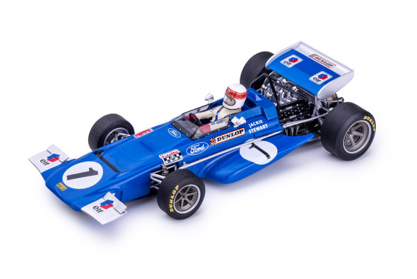 Slot.it Policar CAR04B March 701, 1st Jarama 1970 Jackie Stewart 1/32 Scale Slot Car