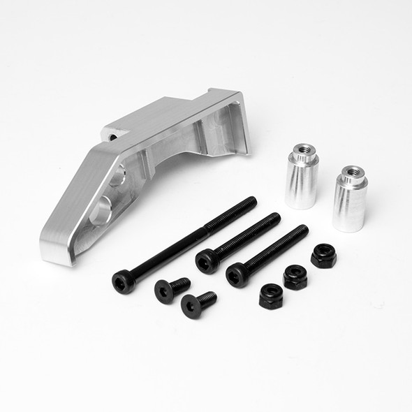 Gmade GM30032 R1 Front Axle Truss Upper Link Mount (Silver) : R1 Rock Buggy