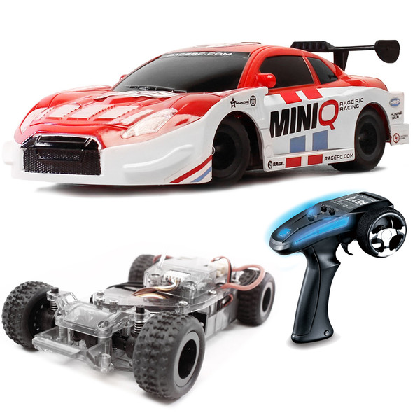 """Rage R/C RGRC2400 Mini-Q 1/24 Scale 4WD On-Road DIY RTR  """" Assembly Required """""""