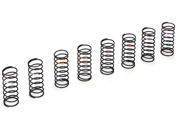 Losi TLR233012 Front Spring Set, Low Frequency 4 pair : 22 buggy