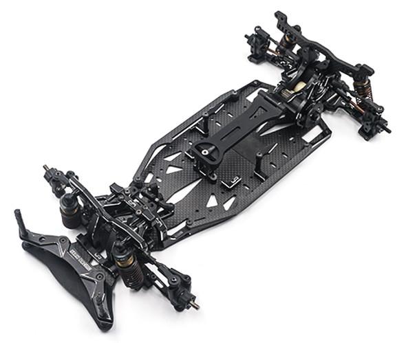 Yeah Racing YKYD-S03BK Aluminum Performance Upgrade Kit : Yokomo YD2S Black