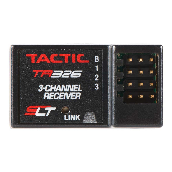 Tactic TR326 3-Channel 2.4GHz SLT HV Receiver for use w/Arrma Nero