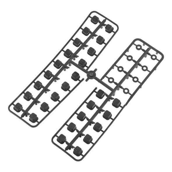 Tekno R/C TKR5165 V2 Hinge Pin Inserts /Wheelbase Shims EB / NB