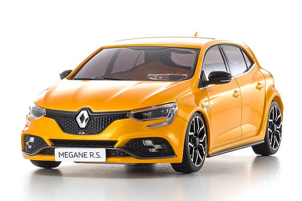 Kyosho MZP441OR-B ASC MA-03F RENAULT MEGANE R.S.Orange 1:27 Auto Collection