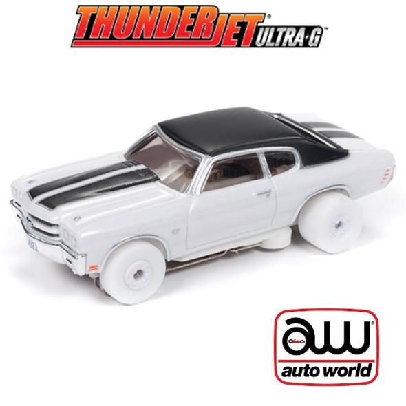 Auto World Thunderjet R23 1970 Chevrolet Chevelle SS iWheels : 1:64 HO Slot Car