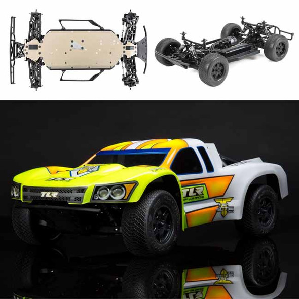 Losi TLR03008 1/10 TEN-SCTE 3.0 4WD SCT Short Course Race Truck Kit w/Clear Body