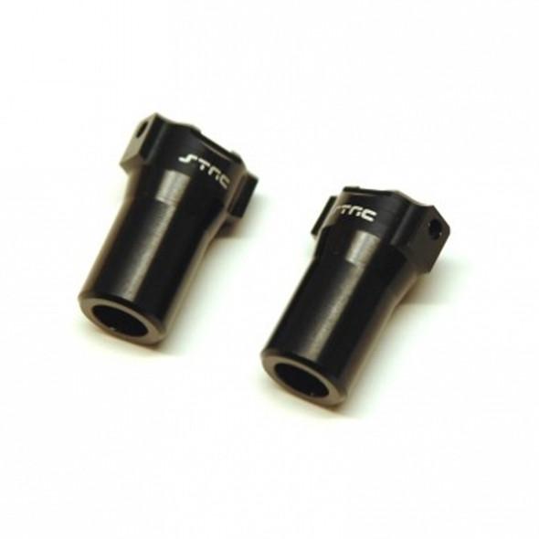STRC STH116868LBK Aluminum Precision Rear Lock-outs : HPI Venture Black