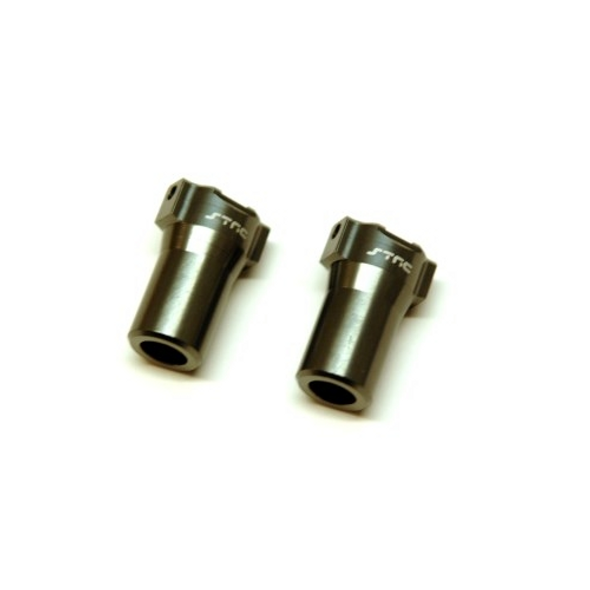 STRC STH116868LGM Aluminum Precision Rear Lock-outs : HPI Venture Gun Metal