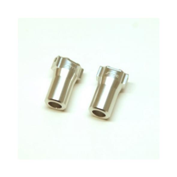STRC STH116868LS Aluminum Precision Rear Lock-outs : HPI Venture Silver