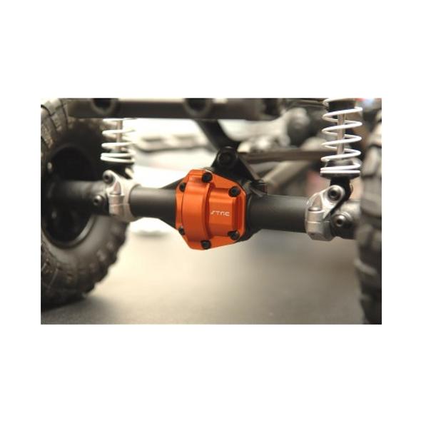STRC STH116866GM Aluminum Diff Cover : HPI Venture Gun Metal