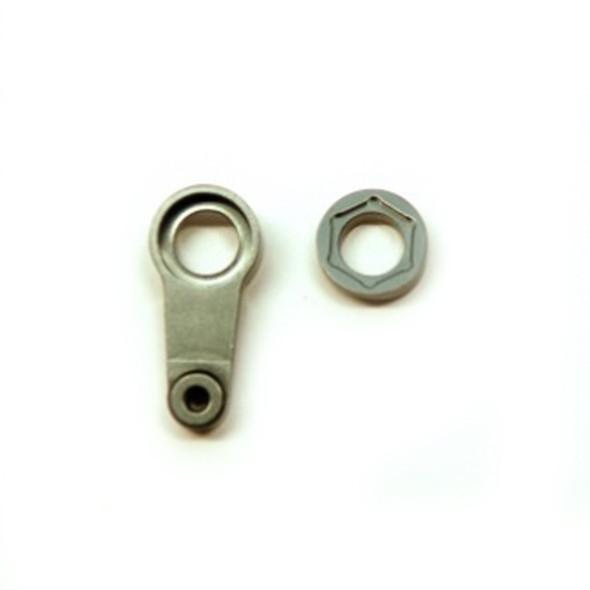 STRC STH117051GM Aluminum Servo Saver Arm : HPI Venture Gun Metal
