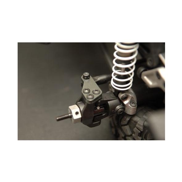 STRC STH116883GM Aluminum HD Steering Plate Set (1 pair) : HPI Venture Gun Metal