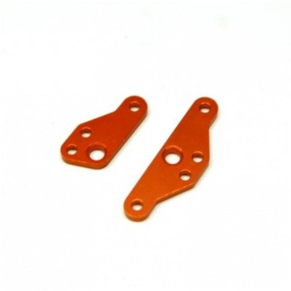 STRC STH116883O Aluminum HD Steering Plate Set (1 pair) : HPI Venture Orange