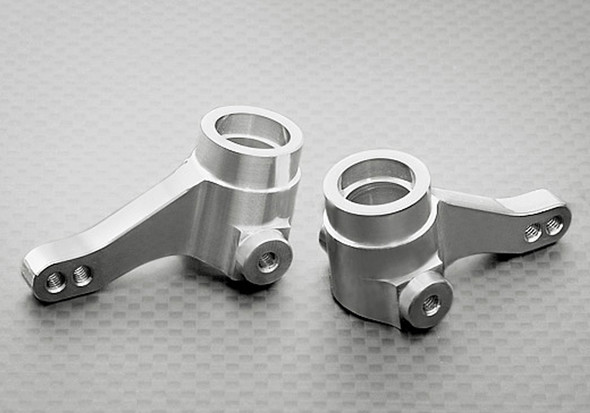 Gmade GM51105S One Piece Silver Knuckle Arm (2) R1 Rock Buggy