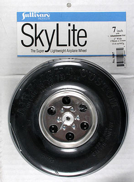 "Sullivan S887 SkyLite Wheel 7"" (1) Airplane"