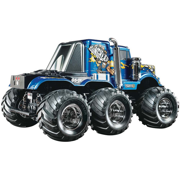 Tamiya 58646 1/18 Konghead 6x6 G6-01 Radio Control Monster Off Road Truck Kit