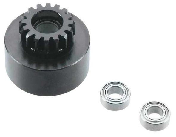Tekno R/C TKR4126 1/8 Clutch Bell (16T Mod1 Hard Steel w/Bearing)