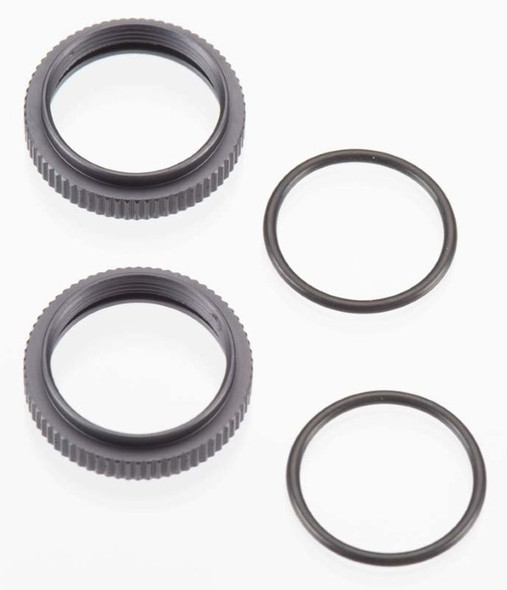 Tekno R/C TKR6013 Shock Adjustment Nuts Aluminum (2) SCT410 / EB48