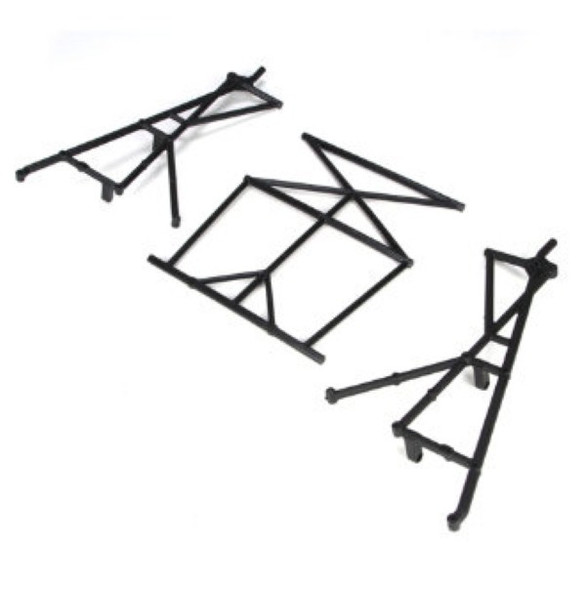 Losi LOSB2579 Rear Top & Side Cage Set 1/5 4WD 5IVE-T