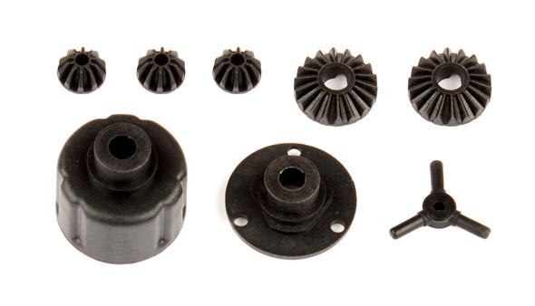 Associated 21529 1:14 Differential Case Kit : Reflex 14B / Reflex 14T