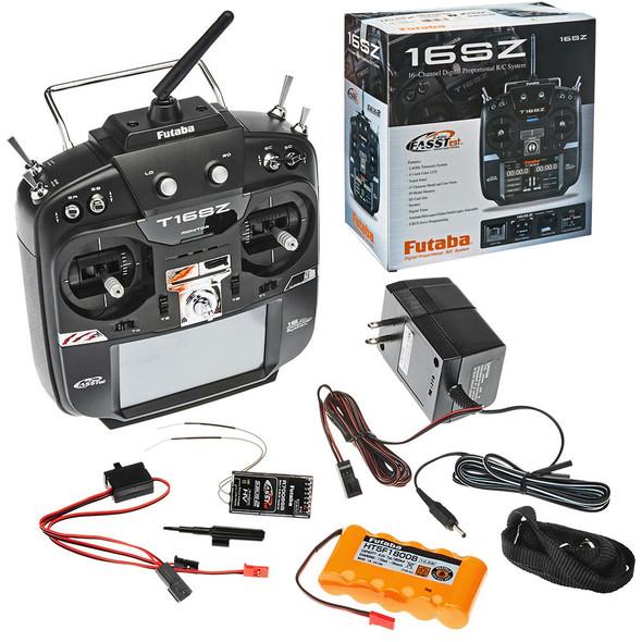 Futaba FUTK9461 16SZH 16-Ch Heli FASSTest Telemetry Radio w/ R7008SB Receiver