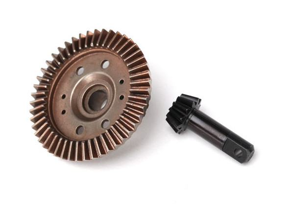 Traxxas 6778  Front Ring Gear Differential/ Pinion Gear: 4x4 Rustler / Slash  / Stampede