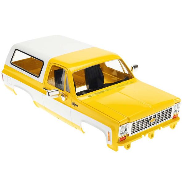 RC4WD Z-B0152 Chevy Blazer Hard Body Complete Set Yellow