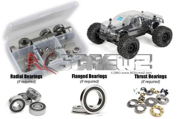 RC Screwz PROL003R Proline Pro-MT Monster Rubber Shielded Bearing Kit