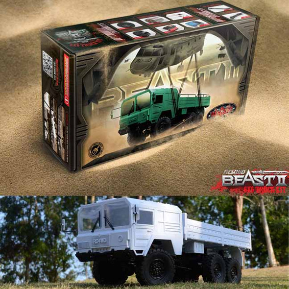 RC4WD Z-K0052 1/12 Beast II 6x6 Truck Kit