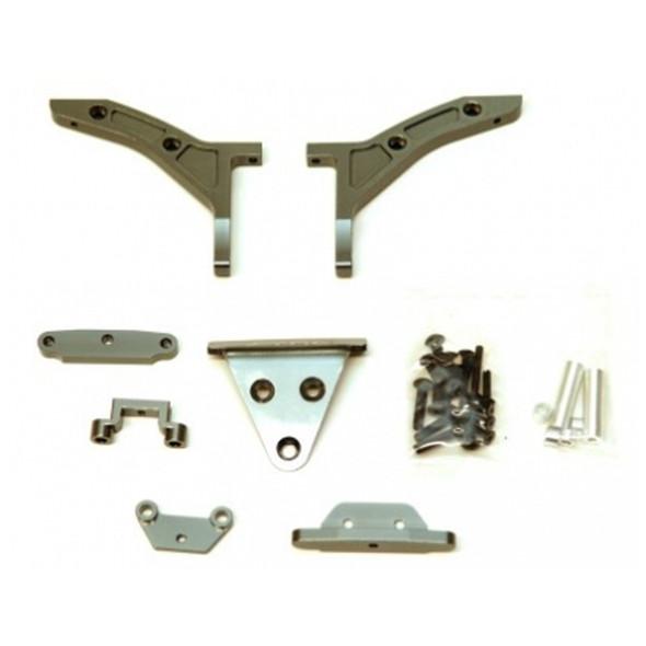 STRC ST6808GM Conversion Kit Gun Metal : Slash 4x4 1/8th E-buggy