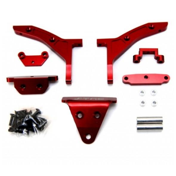 STRC ST6808R Conversion Kit Red : Slash 4x4 1/8th E-buggy