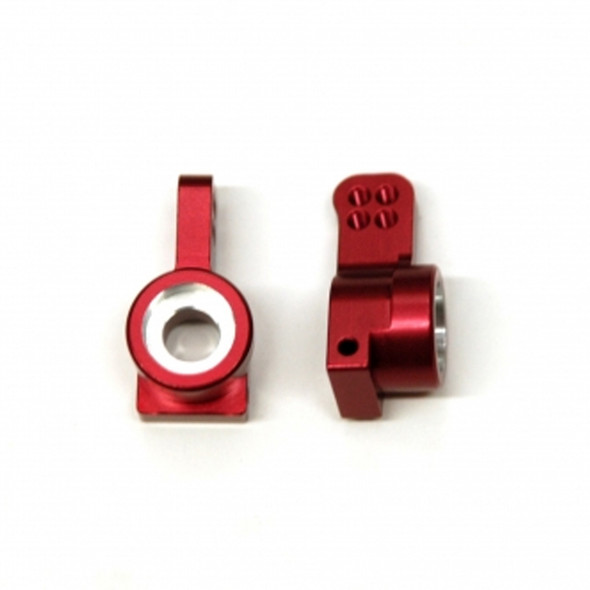 STRC Aluminum Precision Rear Hub Carriers Red (1 pair) : Granite / Raider / Vorteks