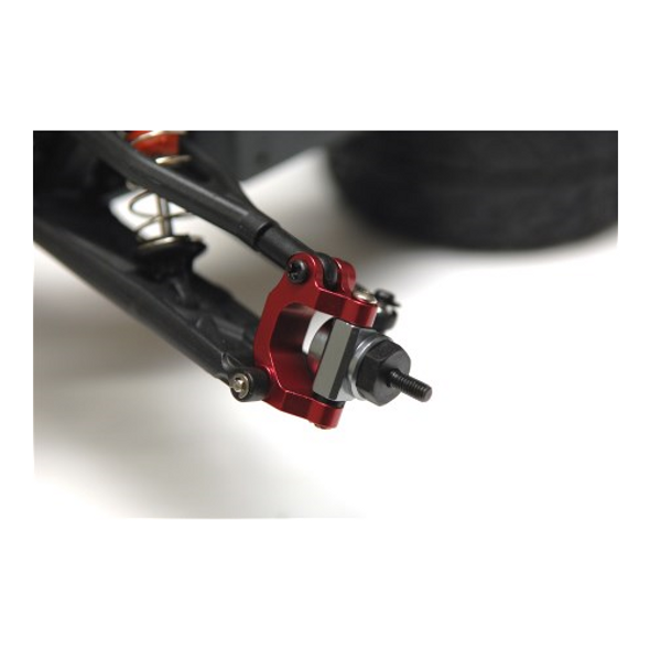 STRC Aluminum Precision Rear Hub Carriers Red (1 pair) : Granite / Raider / Vorteks