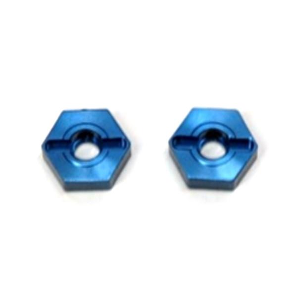 STRC Aluminum Front Hex Adapters (1 pair) Blue : Granite/Raider/ XL/ Vorteks/ Fury