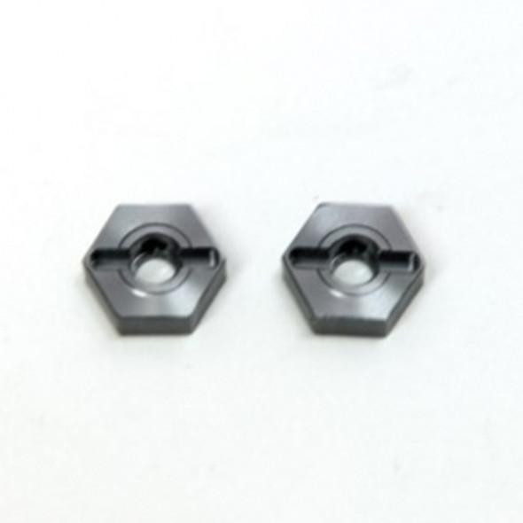 STRC Alum Front Hex Adapters (1 pair) Gun Mtl : Granite/Raider/ XL/ Vorteks/ Fury