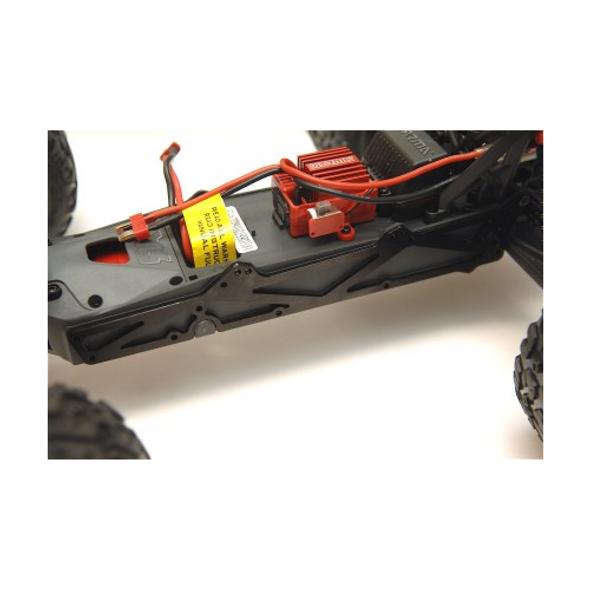 STRC Aluminum TVP Side chassis plates (1 pair) Red : Raider / Granite / Vorteks