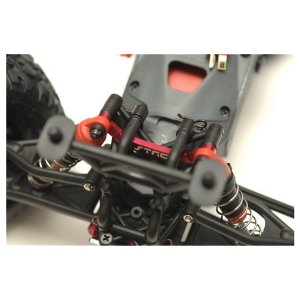 STRC Alum. Heavy Duty Front Shock Tower Brace Blue : Granite / Raider / Vorteks