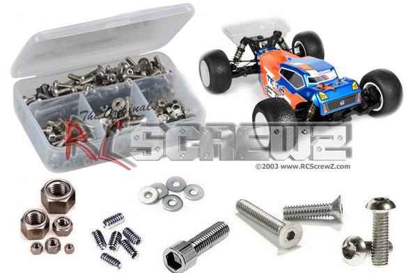 RC Screwz TEK018 Tekno ET410 Truggy 1/10th Stainless Steel Screw Kit
