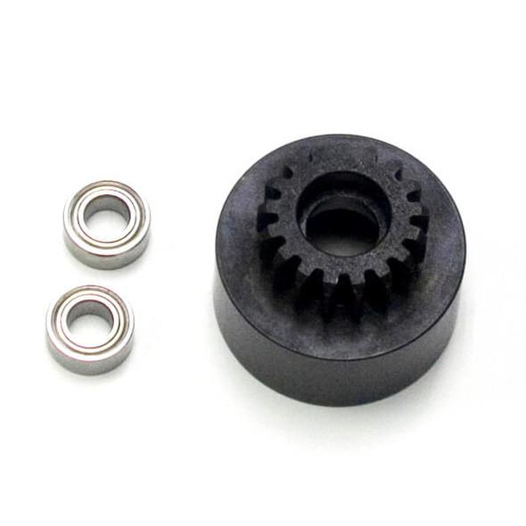 Tekno RC TKR4127 1/8th Clutch Bell Hardened Steel Mod 1 17T w/bearings