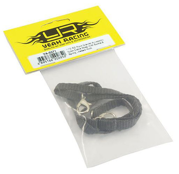 Yeah Racing 1/10 RC Rock Crawler Accessories Nylon Cable Strap w/ Buckle